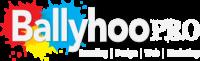 ballyhoopro logo white