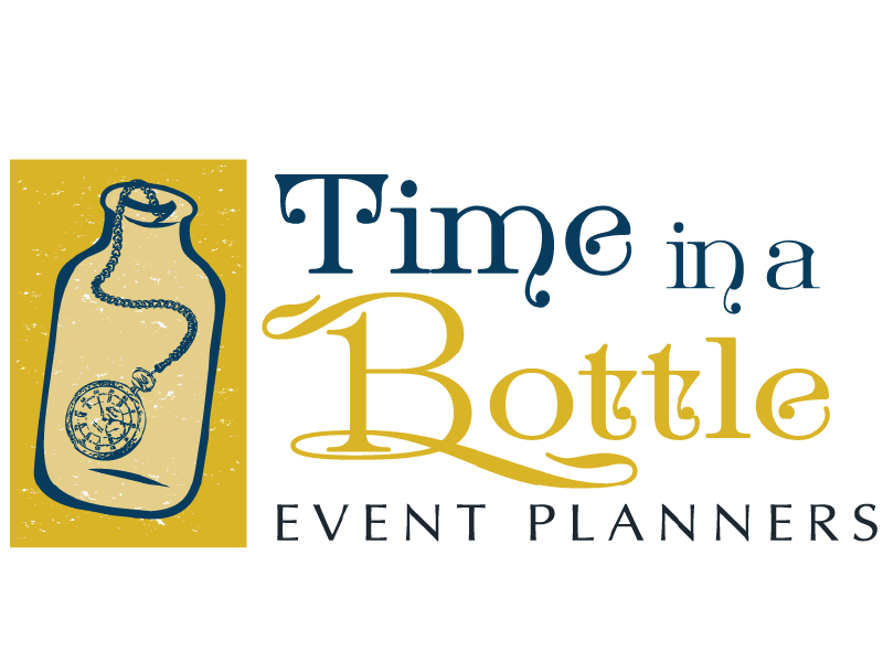 Time in a Bottle Logo Design