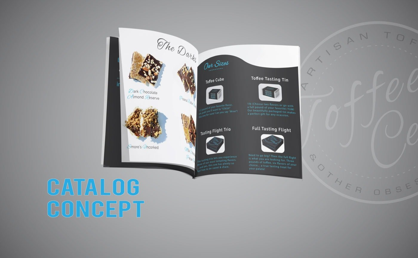 Toffee Cellar Product Catalog