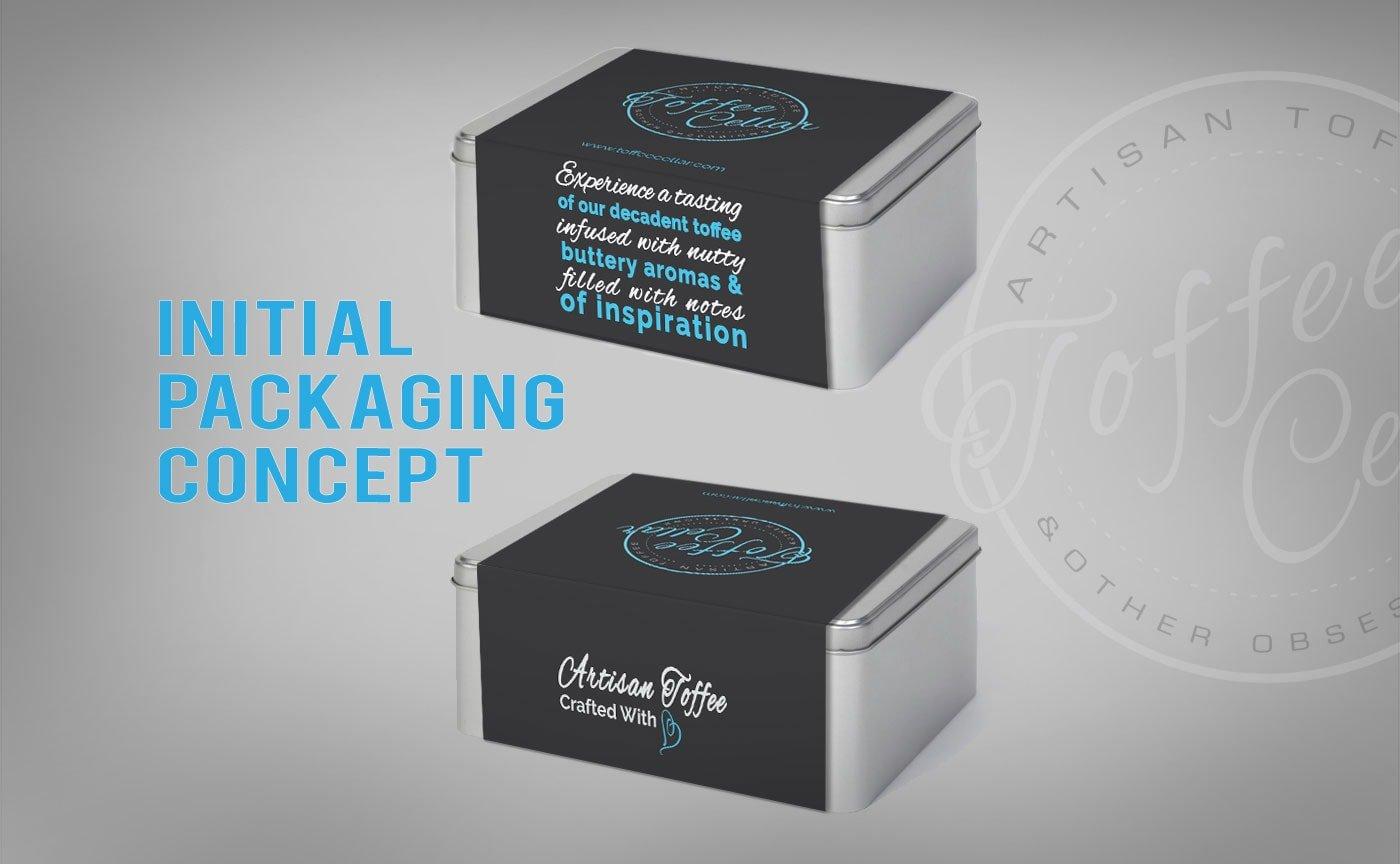Toffee Cellar Packaging