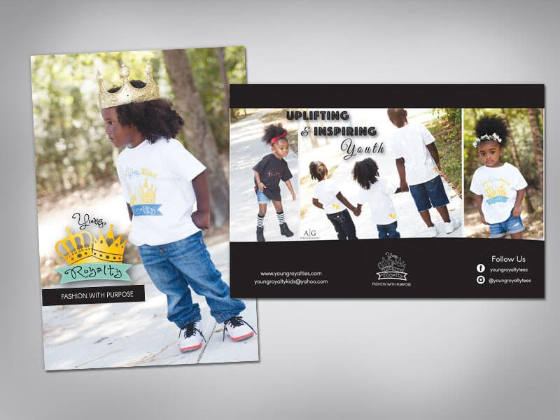Young Royalty Postcard