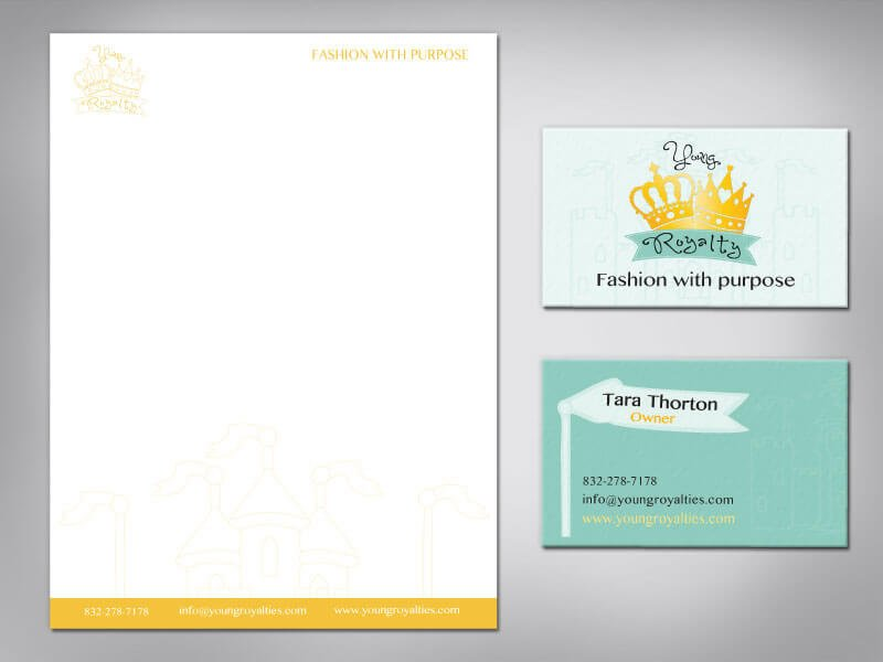 Young Royalty Stationary