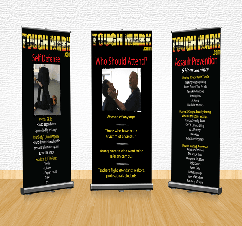 Tough Mark Retractable Banner